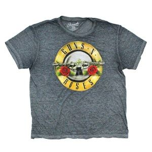 Guns N Roses Burnout Graphic T-Shirt